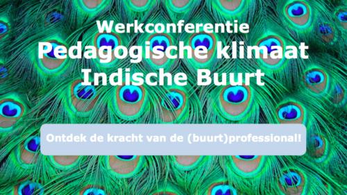Filmverslag 'Werkconferentie Pedagogisch klimaat', 22 april 2016