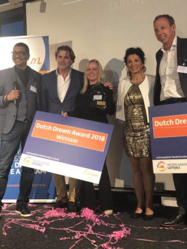 Winnaar Dutch Dream Award 2018!
