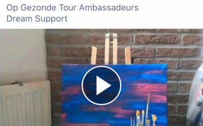 Op Gezonde Tour ambassadeur 'gespot'
